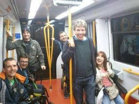 De vuelta en metro