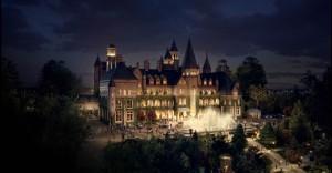 La casa-mansion Gasby