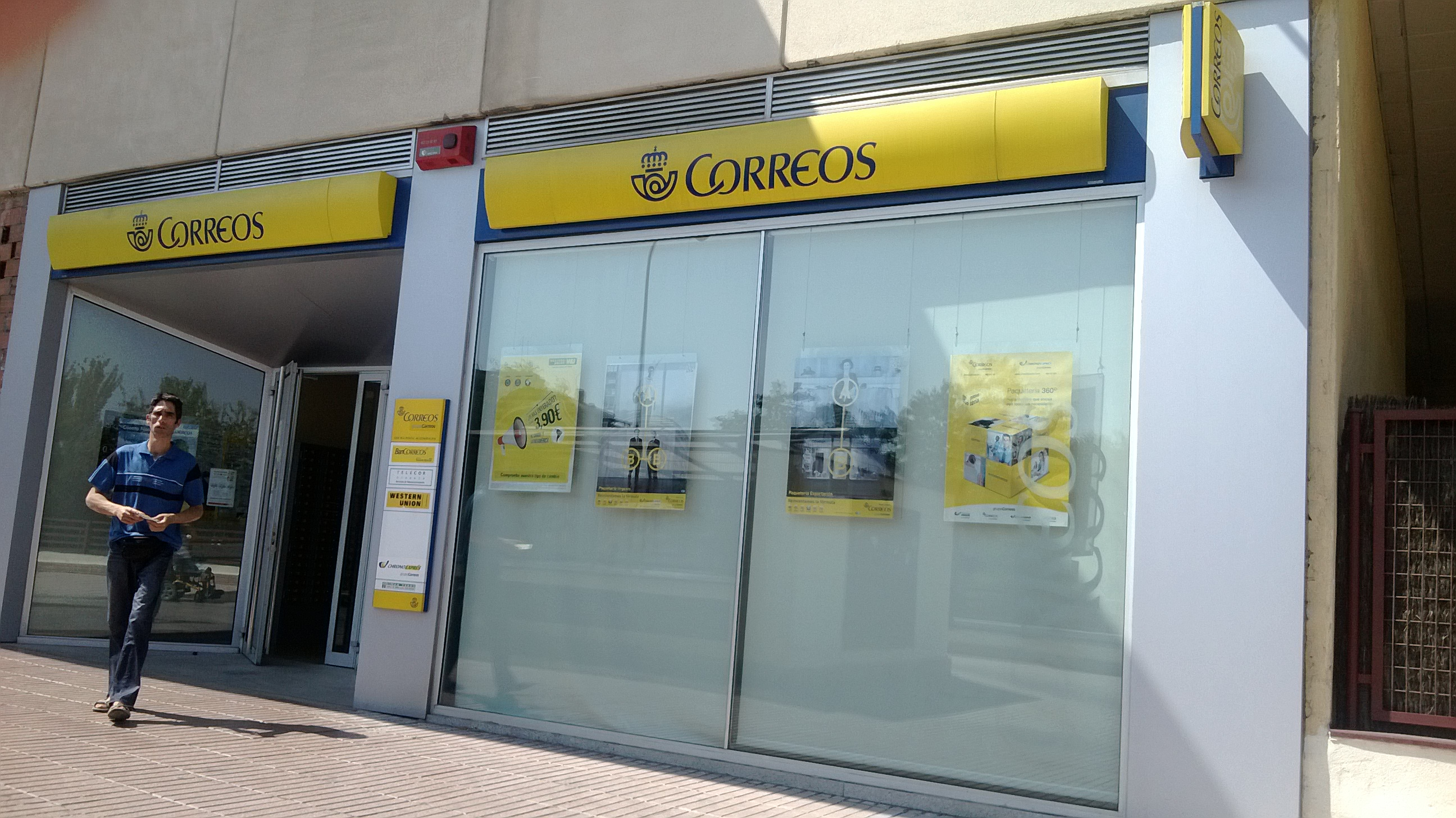 301 moved permanently for Oficina correos madrid