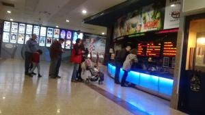 Taquillas-cine  en cc. Dreams