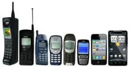 Evolución de los moviles