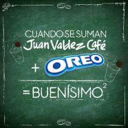 Café Juan Valdez+Oreo