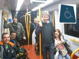 Discapacitados de viaje