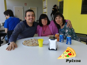Ppizza y amigas.