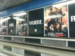 Promoción en el metro