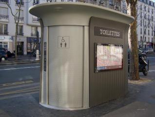Aseos en calle (Paris)