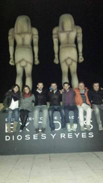 Estreno del film en Madrid